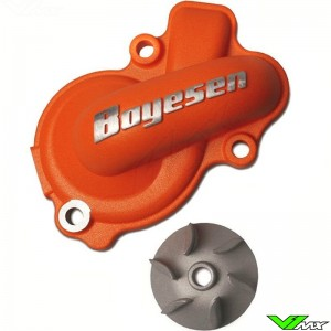 Water pump Supercooler Boyesen orange - KTM 450SX-F 450EXC 500EXC