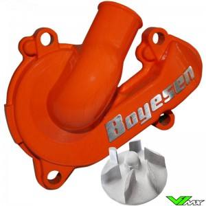 Water pump Supercooler Boyesen orange - KTM 250SX-F 350SX-F 250EXC-F 350EXC-F Freeride350