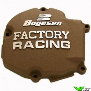 Ignition cover Boyesen magnesium - Kawasaki KX125