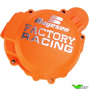 Ignition cover Boyesen orange - Husaberg TE125 Husqvarna TC125 TE125 KTM 125EXC 125SX 150SX