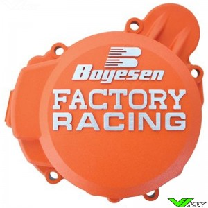 Ignition cover Boyesen orange - KTM 85SX Husqvarna TC85