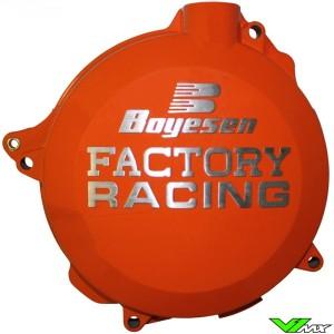 Clutch cover Boyesen orange - KTM 250SX 250EXC 300EXC Husqvarna TC250 TE250 TE300 Husaberg TE250 TE300