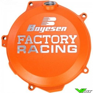 Clutch cover Boyesen orange - KTM Husqvarna Husaberg