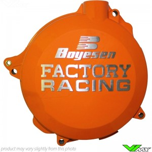 Clutch cover Boyesen orange - Husqvarna TC125 TE125 KTM 125-200EXC 125-200SX