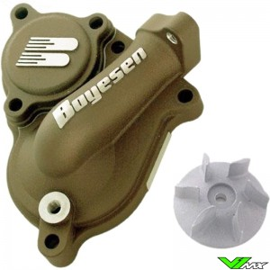 Water pump Supercooler Boyesen magnesium - Kawasaki KXF250 Suzuki RMZ250