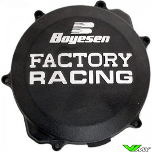 Clutch cover Boyesen black - Yamaha YZ250