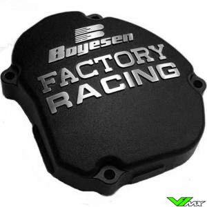 Ignition cover Boyesen black - Yamaha YZ125