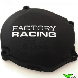 Ignition cover Boyesen black - Yamaha YZ80 YZ85