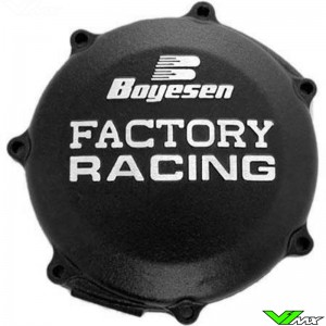 Clutch cover Boyesen black - Yamaha YZF250 WR250F GasGas EC250F EC300F