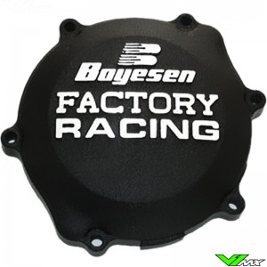 Clutch cover Boyesen black - Yamaha YZ85