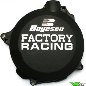 Clutch cover Boyesen black - KTM 125SX 144SX 150SX 200SX 125EXC 200EXC Husqvarna TC125 TE125 Husaberg TE125