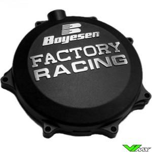 Clutch cover Boyesen black - Kawasaki KXF450