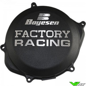 Clutch cover Boyesen black - Honda CRF450R