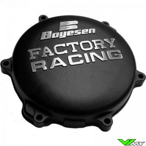 Clutch cover Boyesen black - Yamaha YZ125