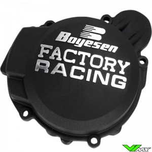 Ignition cover Boyesen black - KTM 125SX 150SX 125EXC Husqvarna TC125 TE125 Husaberg TE125
