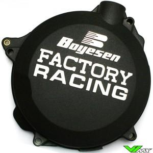 Clutch cover Boyesen black - KTM 250SX 250EXC 300EXC Husqvarna TC250 TE250 TE300 Husaberg TE250 TE300