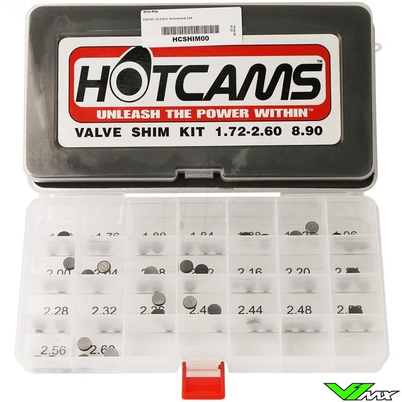 Shim kit HotCams - KTM 250SX-F 350SX-F 450SX-F 505SX-F 450EXC 500EXC 350EXC-F 250XC-F 350XC-F