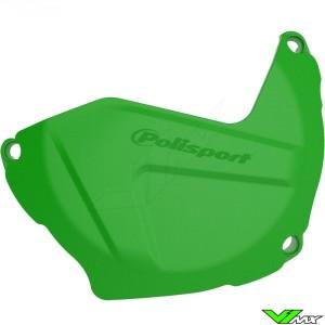 Koppelingsdeksel beschermer Groen Polisport - Kawasaki KXF250