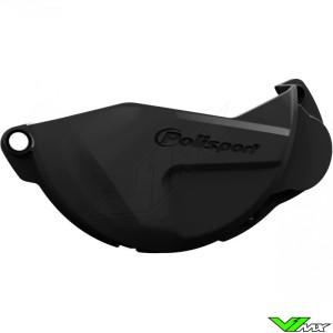 Koppelingsdeksel beschermer Zwart Polisport - Honda CRF250R