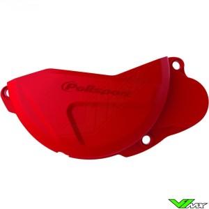 Koppelingsdeksel beschermer Rood Polisport - Honda CRF250R