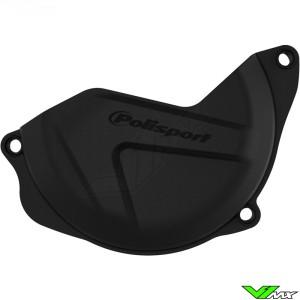 Koppelingsdeksel beschermer Zwart Polisport - Honda CRF450R