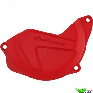 Clutch cover protector Red Polisport - Honda CRF450R