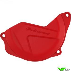 Koppelingsdeksel beschermer Rood Polisport - Honda CRF450R