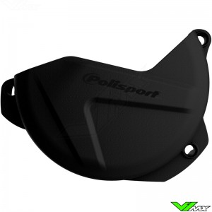 Clutch cover protector Black Polisport - Suzuki RMZ250
