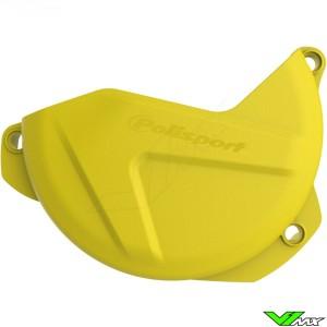 Clutch cover protector Yellow Polisport - Suzuki RMZ250