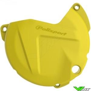 Clutch cover protector Yellow Polisport - Suzuki RMZ450