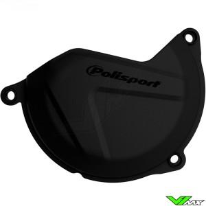Clutch cover protector Black Polisport - KTM 450SX-F 450EXC 500EXC