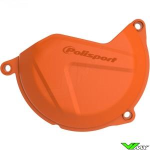 Clutch cover protector Orange Polisport - KTM 450SX-F 450EXC 500EXC