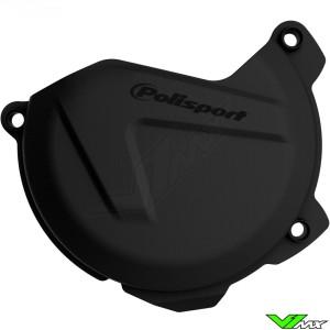 Clutch cover protector Black Polisport - KTM 250SX-F 350SX-F 250EXC-F 350EXC-F