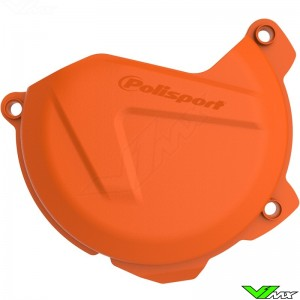 Clutch cover protector Orange Polisport - KTM 250SX-F 350SX-F 250EXC-F 350EXC-F