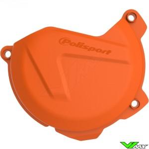 Koppelingsdeksel beschermer Oranje Polisport - KTM 250SX-F 350SX-F 250EXC-F 350EXC-F