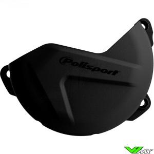 Clutch cover protector Black Polisport - Yamaha YZF250 WR250F