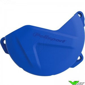 Clutch cover protector Blue Polisport - Yamaha YZF250 WR250F
