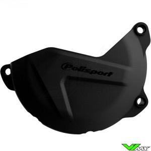 Clutch cover protector Black Polisport - Yamaha WR450F