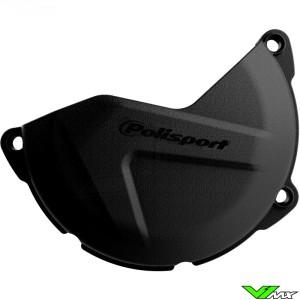 Clutch cover protector Black Polisport - Yamaha YZF450