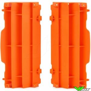 Radiator louvers Orange Polisport - KTM 125-250SX 250-505SX-F 125-500EXC 250-350EXC-F