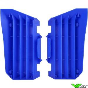 Radiator louvers Blue Polisport - Yamaha YZF250 YZF450 WR250F