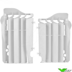 Radiateur lamellen Wit Polisport - Honda CRF250R
