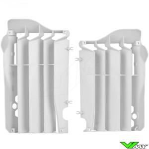 Radiateur lamellen Wit Polisport - Honda CRF450R