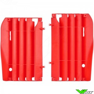 Radiator louvers Red Polisport - Honda CRF250R