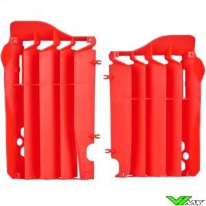 Radiator louvers Red Polisport - Honda CRF250R CRF450R
