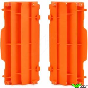 Radiator louvers Orange Polisport - KTM 125SX 150SX 250SX-F 350SX-F 450SX-F