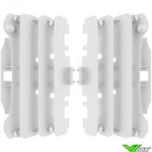 Radiateur lamellen Wit Polisport - Yamaha YZF250 YZF450