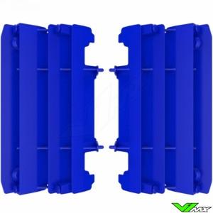 Radiator louvers Blue Polisport - Yamaha YZ125 YZ250