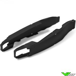 Swingarm protector Black Polisport - Yamaha YZF250 YZF450 WR250F