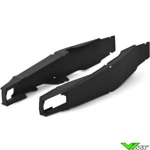Swingarm protector Black Polisport - Honda CRF250R CRF450R